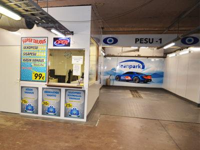 Autopesu CleanPark
